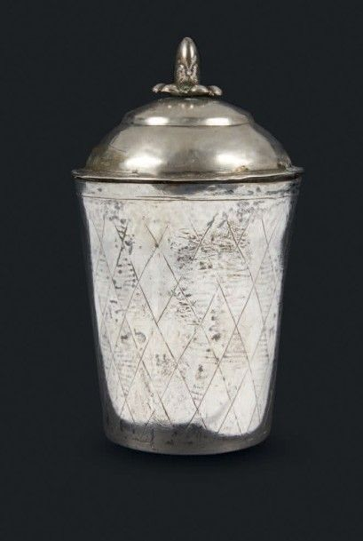 SET DE HAVDALAH EN ARGENT Pologne, vers 1820...