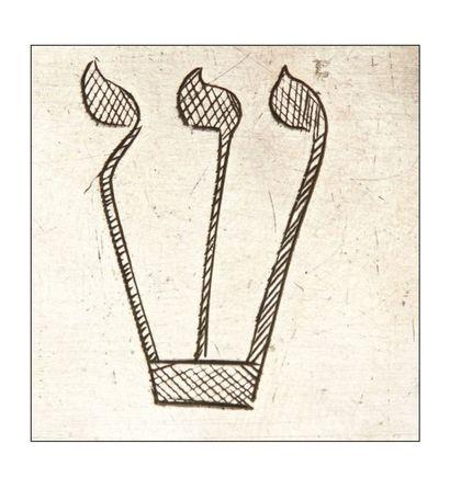 PAIRE DE BOÎTIERS DE TEFILLIN EN ARGENT Pologne, milieu du XIXème siècle Inscriptions...