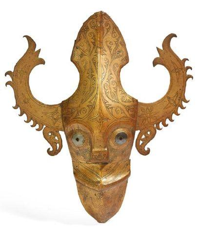 ELÉMENT D'ARCHITECTURE en bois sculpté d'une...