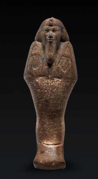 SHAOUABTI DU ROI TAHARQA (690-664 AV. J.-C.).Il...