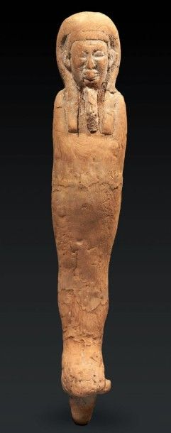 PTAH-SOKAR-OSIRIS. Statuette représentant Ptah-Sokar-Osiris debout, momiforme, coiffé...