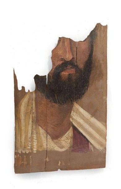 PORTRAIT DU FAYOUM. Il représente un homme...