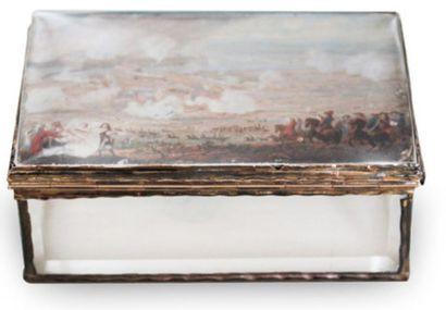 LOUIS-NICOLAS VAN BLARENBERGHE (LILLE 1716 - FONTAINEBLEAU 1794) Scène de bataille,...