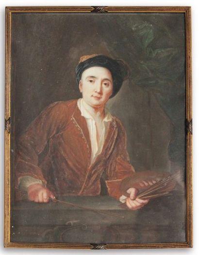 MAURICE QUENTIN DE LA TOUR (1704-1788) ATTRIBUÉ À