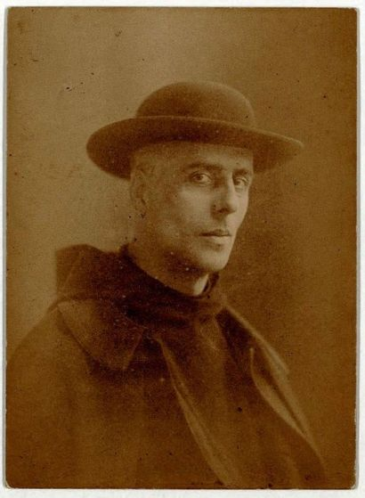 JAN VERKADE (1868-1946) Paysage de Bretagne, vers 1892-1893 Etude de portrait d'une...