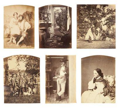 OLYMPE AGUADO ET ENTOURAGE, DE SAINT MARC ET DISDERI (1827-1894)