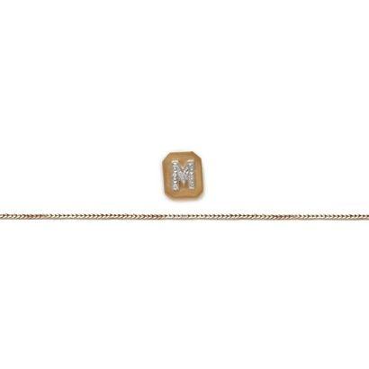 6149/20 Lot de bijoux en or 18K comprenant:...