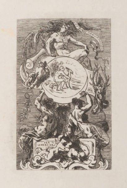 Félicien Rops (1833-1898) Les quatre métamorphoses Sur papier Chine. E 704 H_13,5...