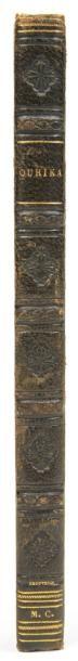 [DURAS (Claire de Kersaint, duchesse de)] Ourika. Paris, Ladvocat, 1824. In-12, demi-basane...