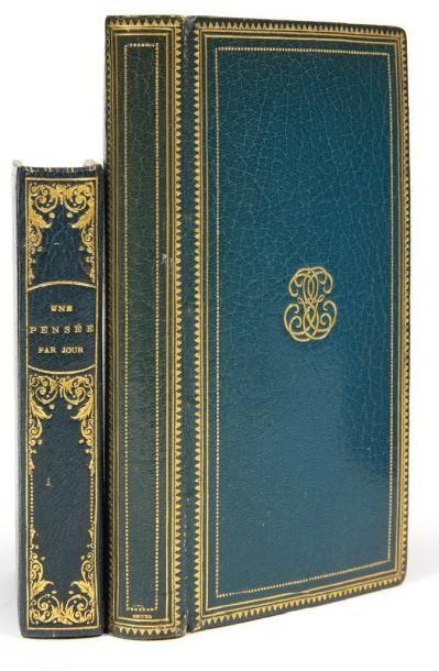 FENELON Méditations et réflexions pieuses. Paris, Gruel & Engelmann, 1885. In-16...