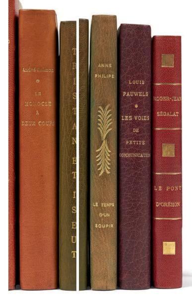 [LITTERATURE]. Ensemble de 6 éditions originales,...
