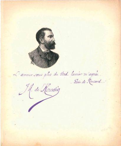 José-Maria de heredia (1842-1905)