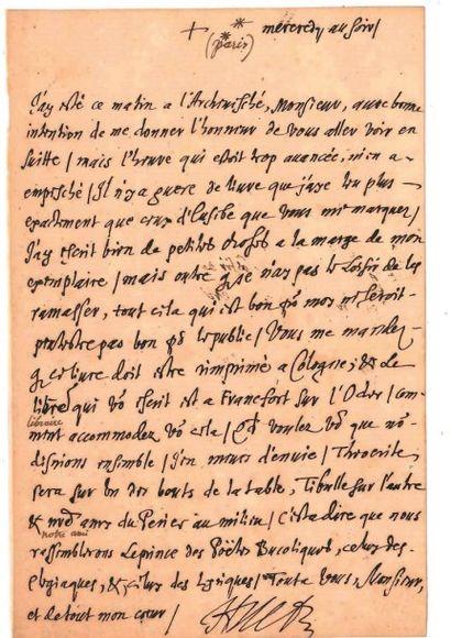 Pierre-Daniel HUET (1630-1721)