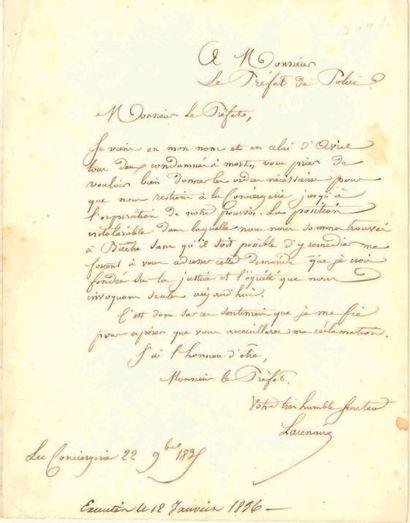 Pierre-François LACENAIRE (1803-1836)