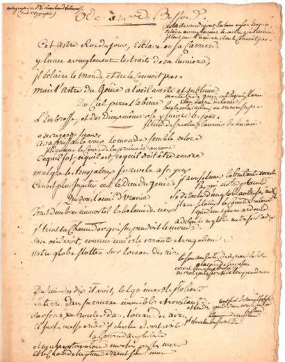 Ponce Denis Ecouchard LE BRUN (1729-1807)