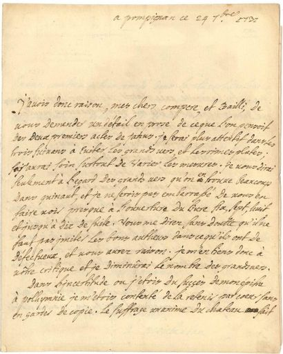 Jean-Jacques LEFRANC, marquis de POMPIGNAN (1709-1784)