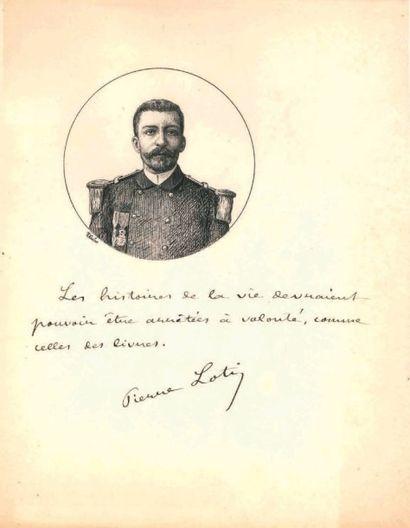 Pierre LOTI. [AF]