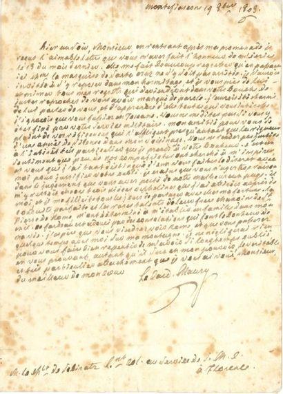 Jean-Siffrein MAURY (1746-1817)