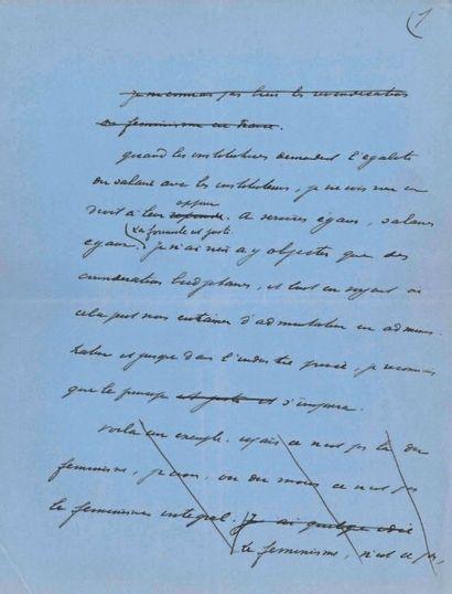Maurice BARRÈS (1862-1923) écrivain et homme politique