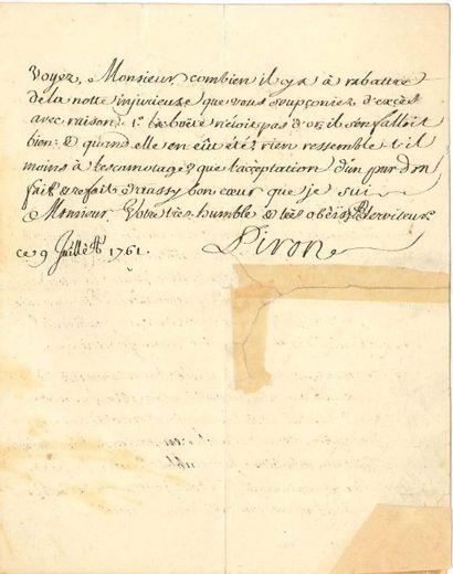 Alexis PIRON (1689-1773)