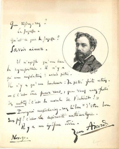 POÈTES. XIXe siècle