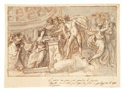 ATTRIBUÉ À FELICE GIANI (SAN SEBASTIANO CURONE, ALESSANDRIA 1758 - ROME 1823)