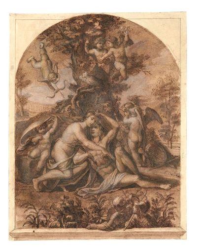 ATTRIBUÉ À ORAZIO SAMACCHINI (BOLOGNE 1532 - 1577)