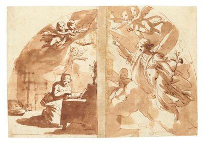 ATTRIBUÉ À RAFFAELLO VANNI (SIENNE 1590 - 1657)