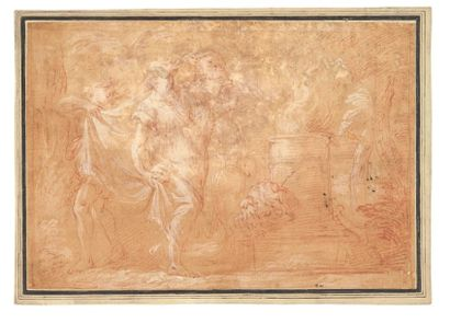 ATTRIBUÉ À MICHELANGELO ANSELMI (LUCQUES 1491/1492 - PARME 1555)