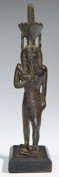 STATUETTE DE NÉFERTOUM. Statuette votive...