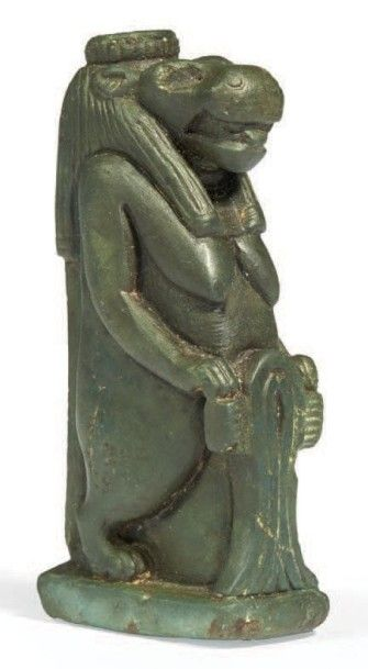STATUETTE DE THOUÉRIS. Figurine représentant...