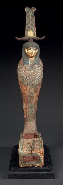 PTAH-SOKAR-OSIRIS. Statuette représentant...