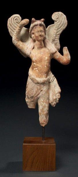 STATUETTE D'ÉROS. Statuette représentant...