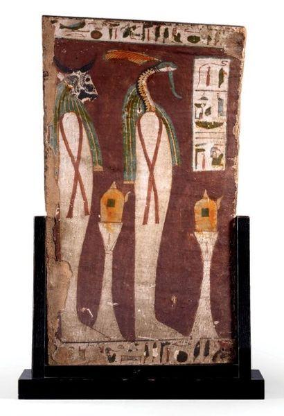 PANNEAU DE SARCOPHAGE. Panneau de sarcophage...