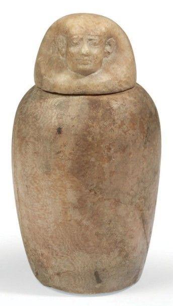 VASE CANOPE. Vase canope anépigraphe fermé...