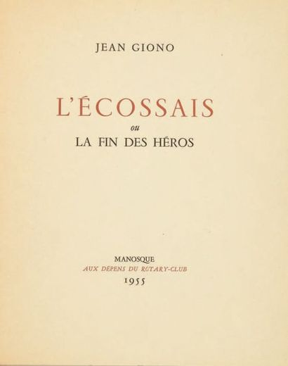 GIONO, Jean