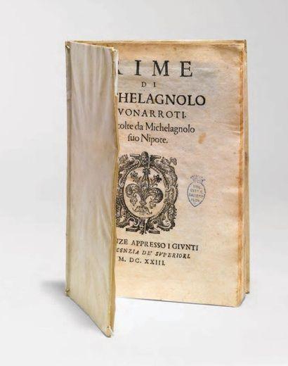 MICHEL-ANGE, Michelangelo Buonarotti, dit