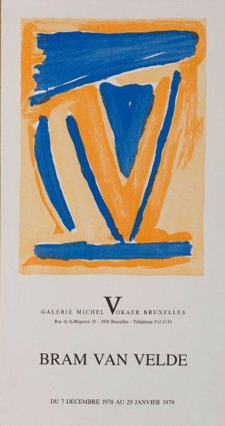 Bram VAN VELDE (1895-1981)