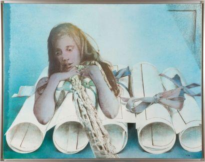 Pol MARA (1920-1998) The graduate, 1973 Huile sur toile. Signée et datée en bas à...
