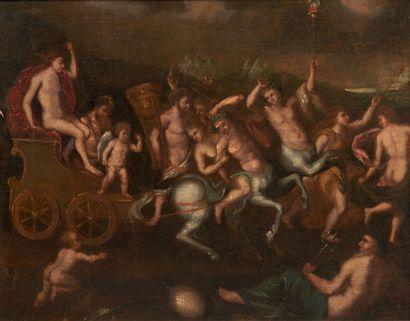 ECOLE ITALIENNE VERS 1700, D'APRÈS NICOLAS POUSSIN