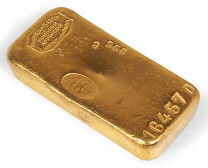 LINGOT D'OR N° 184 570 Lingot d'or français....