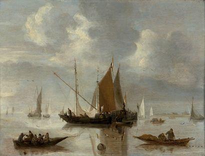 JAN VAN DE CAPPELLE (AMSTERDAM 1626-1679)