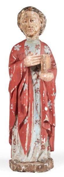 SAINT JEAN DE CALVAIRE en bois de résineux,...
