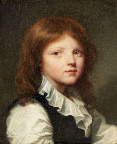 ENTOURAGE DE JEAN-BAPTISTE GREUZE (1725-1805)