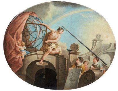ÉCOLE FRANÇAISE du XVIIIe siècle, d'après Jacques de LAJOUE
