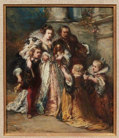 Eugène ISABEY (Paris 1803 - Montévrain 1886)