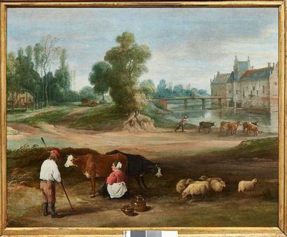 DAVID TENIERS ET COLLABORATEURS (ANVERS 1610 - BRUXELLES 1690)