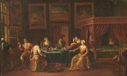 FRANCESCO SIMONINI (PARME 1686 - VENISE 1753)