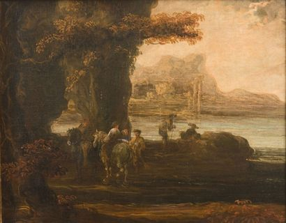 JAN DE MOMPER DIT MONSÙ X (ANVERS 1614 - ROME 1684)