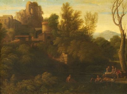 ATTRIBUÉ À GASPARD DUGHET (ROME 1615-1675)